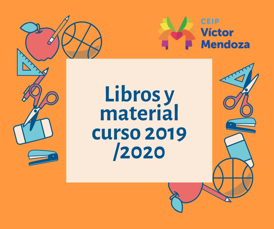 Libros y material curso 2019 _2020